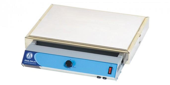 Плита нагревательная LOIP LH-402: поверхность алюминиевый сплав, до 400°С, размеры рабочей поверхности 435х315 мм
