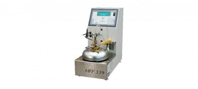 Автоматический анализатор вспышки в закрытом тигле Пенски-Мартенс HFP 339