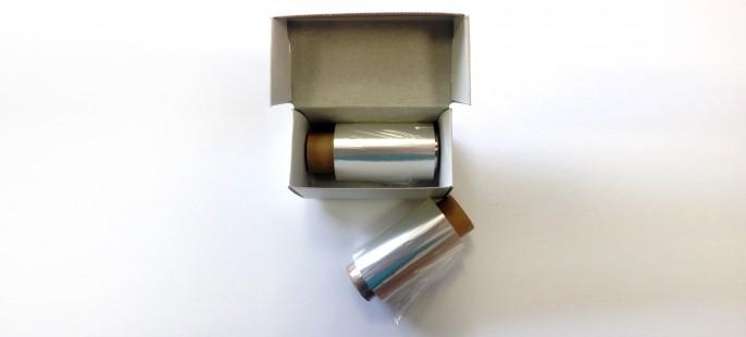 Пленка ПЭТ (полиэтилентерефталатная,  лавсановая, майларовая)  толщина 3 мкм