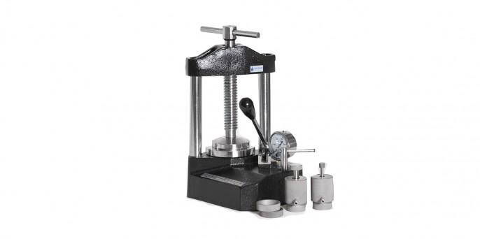 Пресс лабораторный настольный гидравлический ПГР – 10