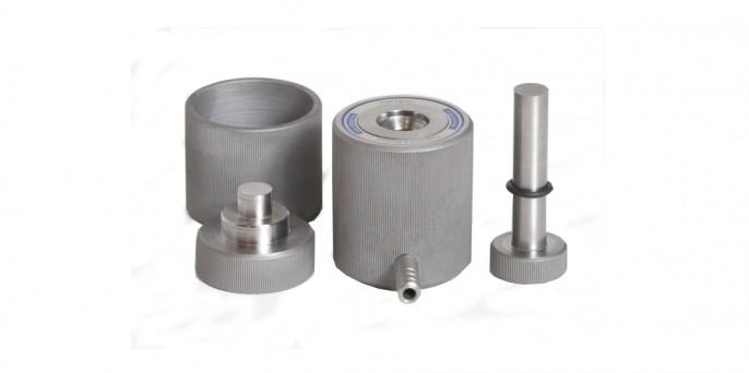 Пресс-формы вакуумируемые круглого сечения для ИК-Фурье и XRF -спектрометрии