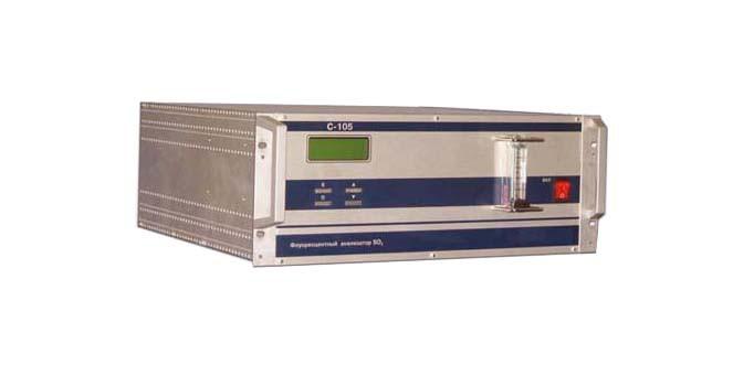 Стационарный оптический газоанализатор SO2 в атмосферном воздухе и технологических газовых смесях (С-105А)