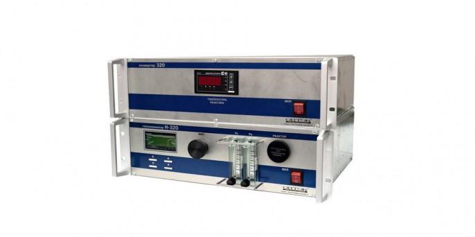 Стационарный хемилюминесцентный газоанализатор NH3, NO и NO2 в атмосферном воздухе (Н-320А)