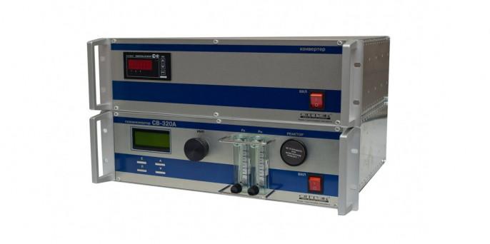 Стационарный хемилюминесцентный газоанализатор H2S и SO2 в атмосферном воздухе (СВ-320)
