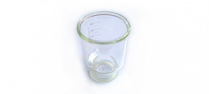 Стеклянная воронка Glass funnel, 300 mL, borosilcate
