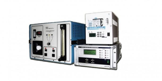 Газоаналитический комплекс Форт-301 для измерения концентрации формальдегида