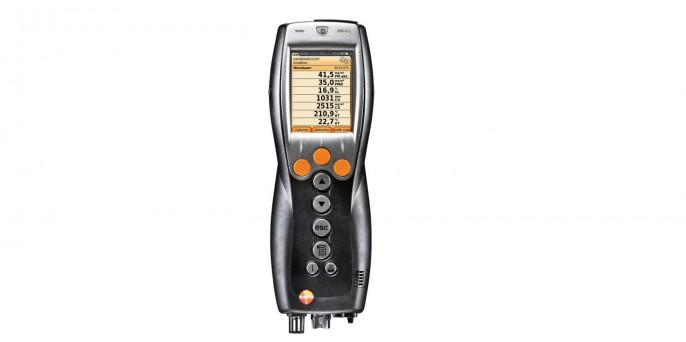 testo 330-2 LL – Анализатор дымовых газов с сенсорами Longlife и встроенной функцией обнуления газовых сенсоров и тяги