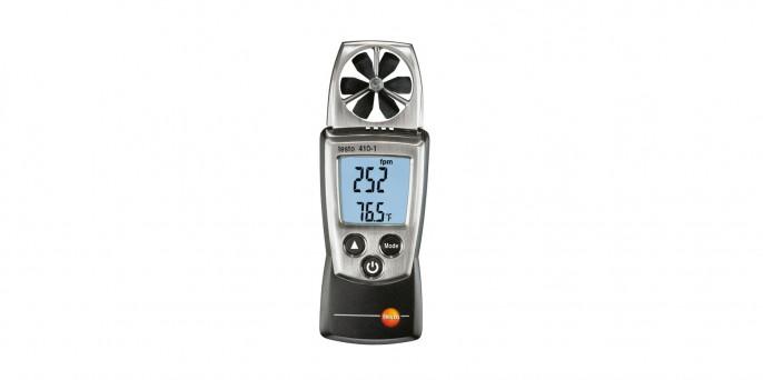 Карманный анемометр с крыльчаткой – testo 410-1