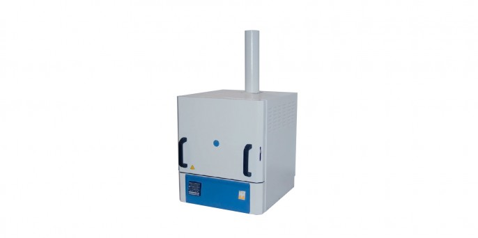 Печь муфельная, объем 5л, T max 1300°С, цифровой контроллер, вытяжка LF-5/13-V1