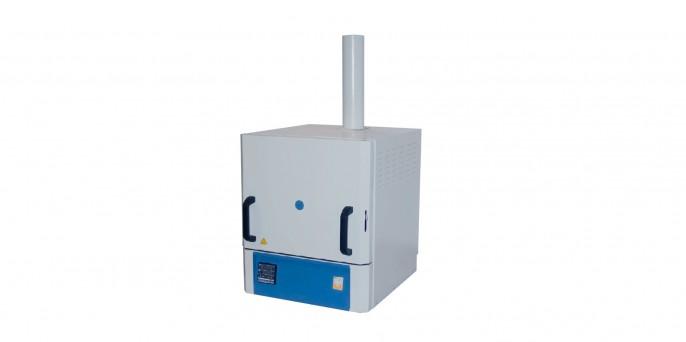 Печь муфельная, объем 5л, T max 1300°С, программируемый контроллер, вытяжка LF-5/13-V2