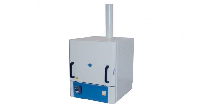 Печь муфельная, объем 15л, T max 1300°С, цифровой контроллер, вытяжка LF-15/13-V1