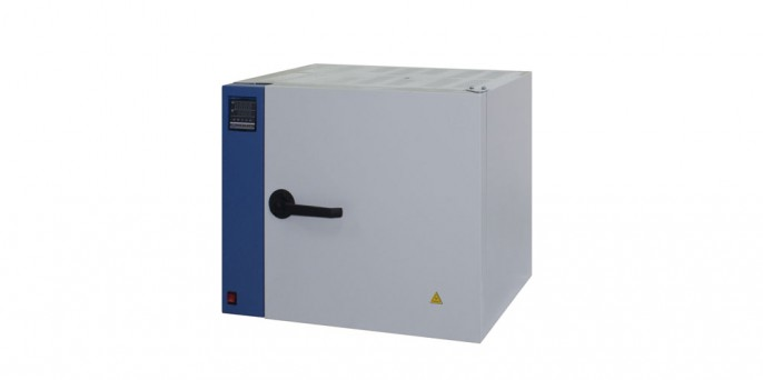 Шкаф сушильный, объем 25л, T max 350°С, без вентилятора, углеродистая сталь, цифровой контроллер LF-25/350-GG1