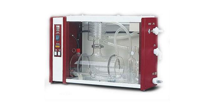 Дистиллятор GFL-2208: производительность 8 л/ч, стеклянный