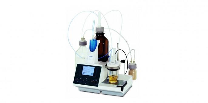 Титратор TitroLine 7500 KF волюмометрический, для определения воды по Фишеру