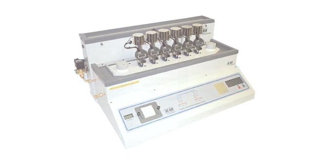 Прибор для определения температуры размягчения по Вика RR/HDV 6: на 6 станций