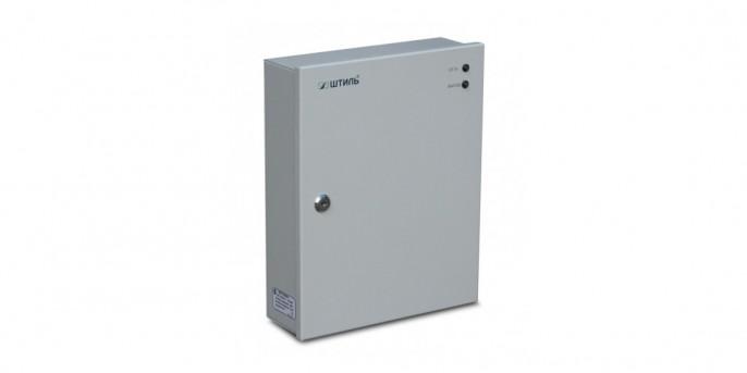 """ИБП постоянного тока """"Штиль"""" PS2405D, 24 В, 5 A, импульсный источник, под АБ 2х7А*ч"""