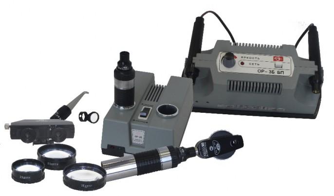 Офтальмоскопы ручные универсальные ОР-3Б