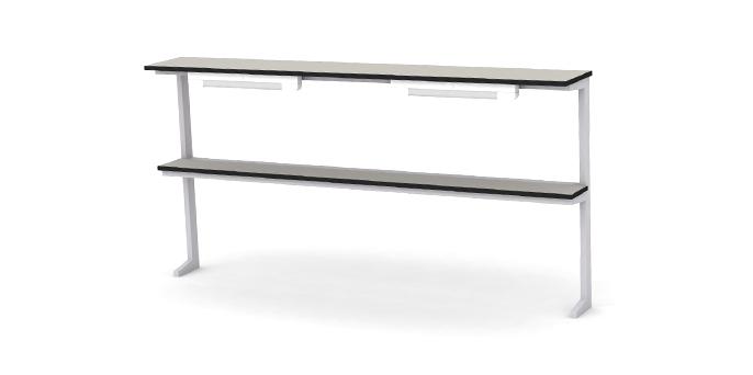Надстройка сервисная для столов лабораторных длинной 1700-1800мм