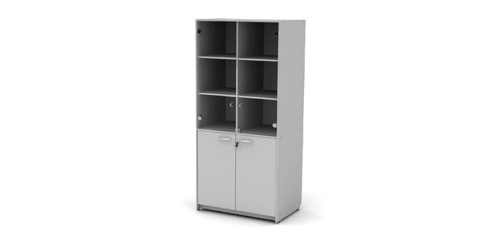 Шкаф лабораторный 4-х секционный для посуды