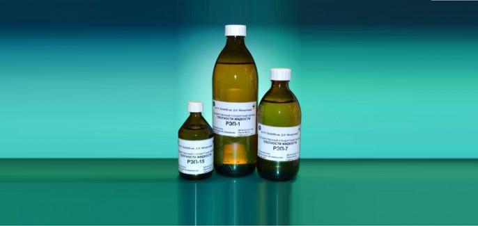 Стандартные образцы плотности жидкости (ГСО РЭП)