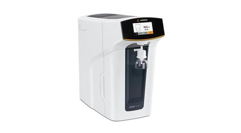 Система для получения ультрачистой воды arium® mini компании Sartorius