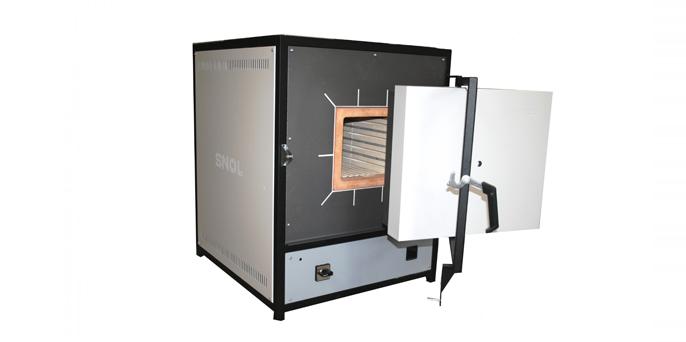 Лабораторная электропечь с керамической камерой SNOL 15/1200