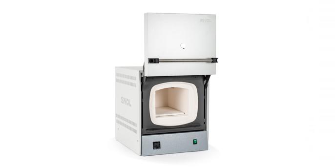 Лабораторная муфельная электропечь с камерой из термоволокна SNOL 13/1100