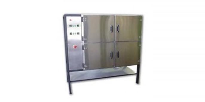 Лабораторный сушильный шкаф SNOL 4×80/350