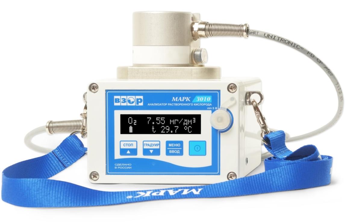 Фото анализатора растворенного кислорода МАРК-3010