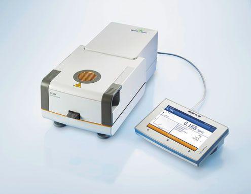 Высокопроизводительный галогенный анализатор влажности Mettler Toledo HS153
