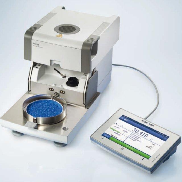 Высокопроизводительный галогенный анализатор влажности Mettler Toledo HX204