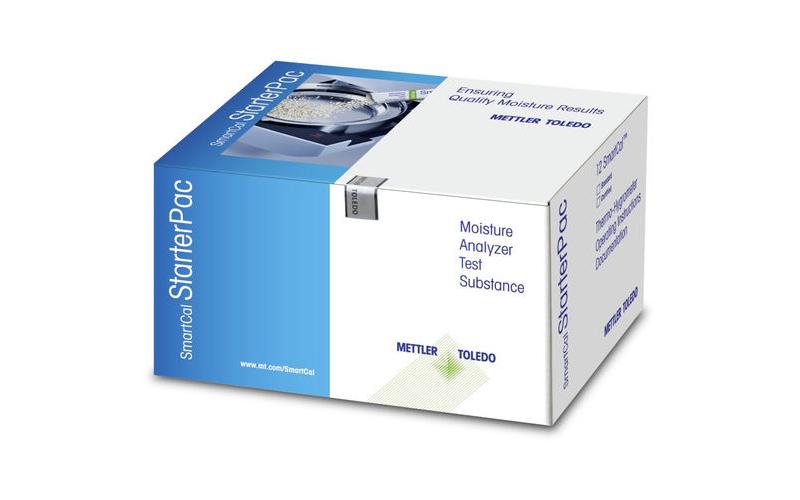 Стандартный образец StarterPac cSmartCal, cert. Version, Mettler Toledo для анализатора влажности