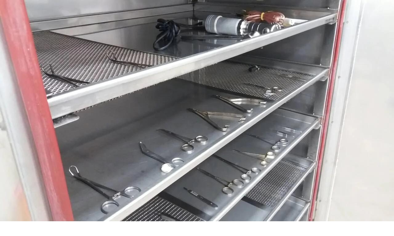 Фото сушильного шкафа с медицинскими инструментами