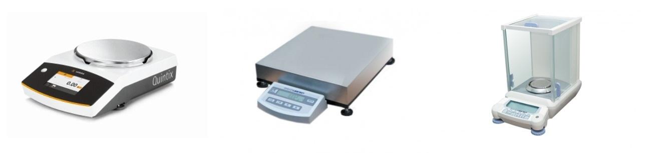 Фото весового оборудования с разными платформами