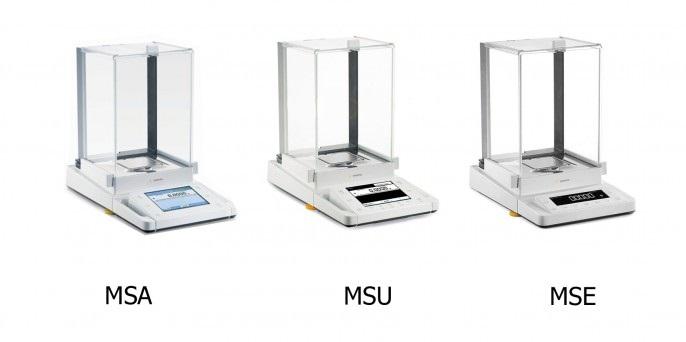Фото разных моделей весов из серии Cubis 124