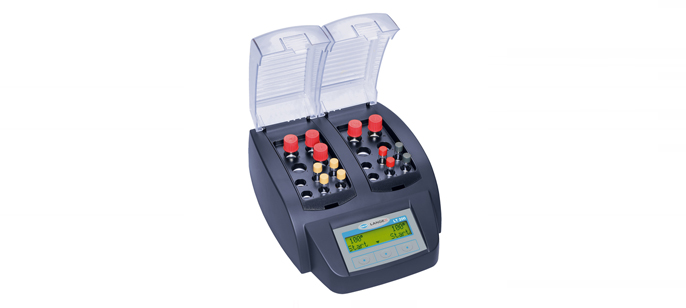 Сухой термостат LT200 с 2-мя блоками, 6 х 13 мм и 4 х 20 мм для каждого блока