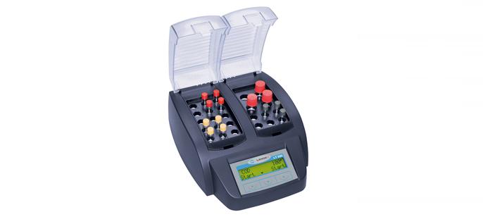Сухой термостат LT200 с 2-мя блоками, 15 х 13 мм и 6 х 13 мм / 4 x 20 мм