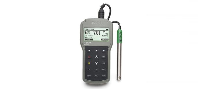 HI98190 влагозащищенный портативный pH/ОВП/термометр