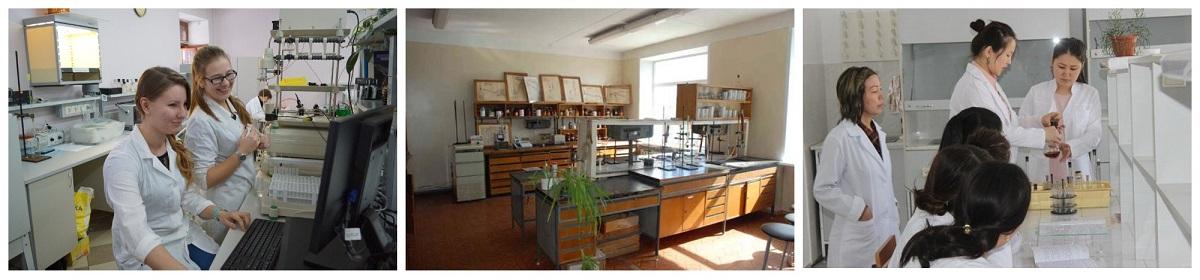Фото учебных и производственной лабораторий